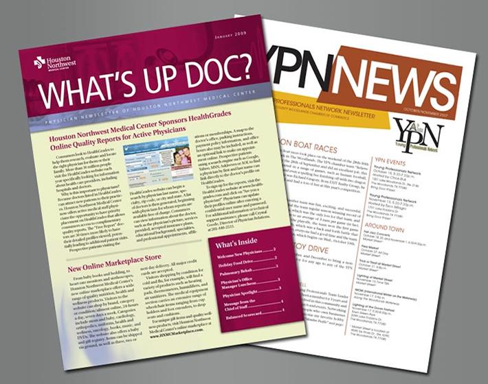 newsletters streeter printing